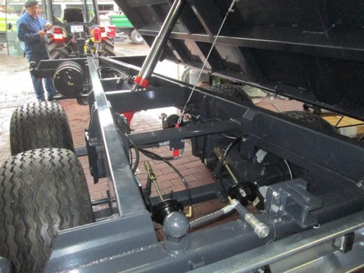 Tandem-Dreiseitenkipper 8,0 Tonnen