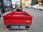 2,0 Tonnen Heckkipper Tomarello für Kleintraktoren